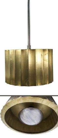 Imagen de las lámparas para techo de diseño retro modelo Nilo.