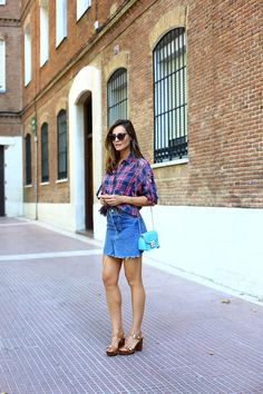 Customised mini skirt looks - Lady Addict