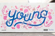 Bonds 100 Mural on Behance