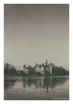 Castle Bornem Durme Belgium Stars Sunrise Pool