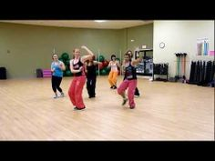 Zumba with Kristine - Lady Gaga (Bad Romance)