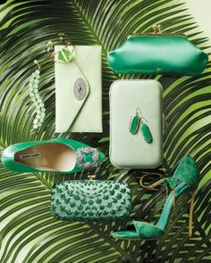 We are in love with these #emerald and #jade accessories