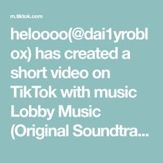 heloooo(@dai1yroblox) has created a short video on TikTok with music Lobby Music (Original Soundtrack). new sleeves!! #giveawaysoon #royalehighsleeves #newsleeves #foryoupage #fyp #royalehightradinghub #leavealike #for #you #page Miguel And Tulio, Voice Effects, Dear White People, Viktor Nikiforov, My Ex Girlfriend, Boyfriend, Yuuri Katsuki, Love Ya, Lets Do It