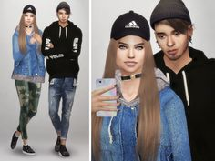 The sims 4 style