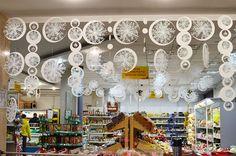 Новогодние украшения из снежинок | Сахалин АРТ