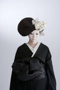 Moderan japanese kimono Hair