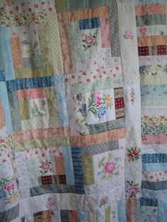 old linen and vintage fabrics