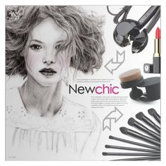 """""""Newchic #29"""" by petrapoly ❤ liked on Polyvore featuring beauty, makeup and beautyset"""