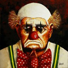 clowns watercolor paintings - Google Search