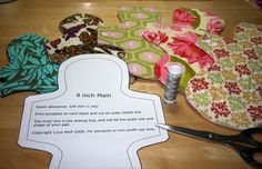 Free patterns and tutorial by Luna Wolf for making your own cloth menstrual pads.