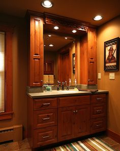 Bathroom Vanity After Personalized Renovation by Design Cabinetry Inc.