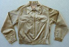Rare and Amazing! vintage Del Mar Sportwear western jacket XS- S unisex. Vintage Western Wear, Photo Lighting, Shoulder Sleeve, 1940s, Westerns, Military Jacket, Pockets, Suits, Unisex
