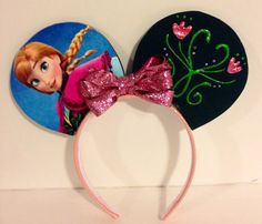 Anna (Frozen) inspired Mickey Mouse ears on my favorite Etsy store.  https://www.etsy.com/listing/219960752/anna-inspired-mickey-mouse-ears?ref=shop_home_active_13
