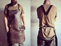 Фартук #авторские_сумки #сумки_ручной_работы #handmade_bags #leather_bags #burtsevbags #фартуки_из_кожи #leather_apron #необычные_сумки