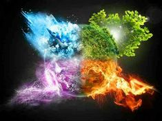 The Elements in Astrology and How They Relate to Nature Click here to learn about the elements in astrology and your dominant element in your natal chart!  #Astrology #Elements #Water #Air #Fire #Earth