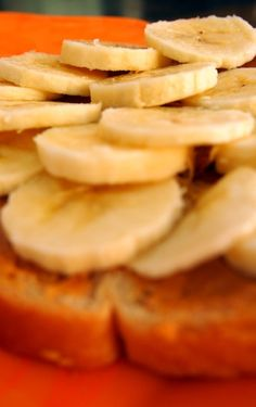 Such a fast sandwich to pack for lunch! Full of protein, potassium, healthy fats, and whole grains!    All you need is a small banana cut into slices, 1 tbsp peanut butter, and two slices of whole grain bread.