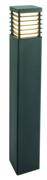NORLYS Halmstad black heavy duty steel 850mm bollard in black - Price: $759.00 AUD
