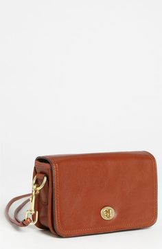 COACH Leather Crossbody Bag available at #Nordstrom. i want this in black!!