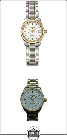 LONGINES RELOJ DE MUJER AUTOMÁTICO CORREA DE ACERO ORO AMARILLO L21285127  ✿ Relojes para mujer - (Lujo) ✿