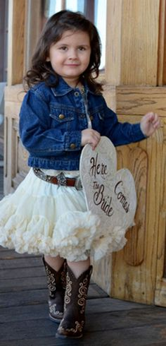 western ruffle skirt - Google Search