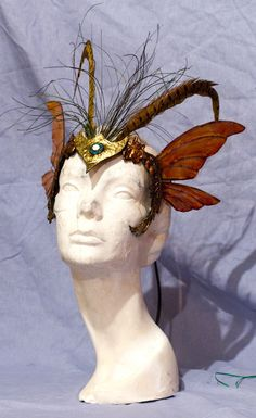 Winged Mask Headress-not in need or desire of it, but you just. never. know.