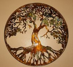 Tree of Life by Heavensgatemetalwork  Rooting down to the Earth and rising up to the Heavens!