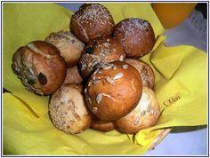 Lecker mit Geri: Vegane Laugen-Muffins - Хлебчета-мъфини