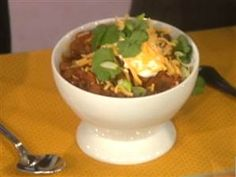 I make several different varieties of chili.. this one is a good one.