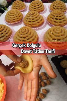 Turkish Recipes, Dessert Recipes, Desserts, Fajitas, Tea Time, Waffles, Food And Drink, Breakfast, Allah