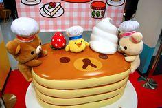 pancakes #rilakkuma