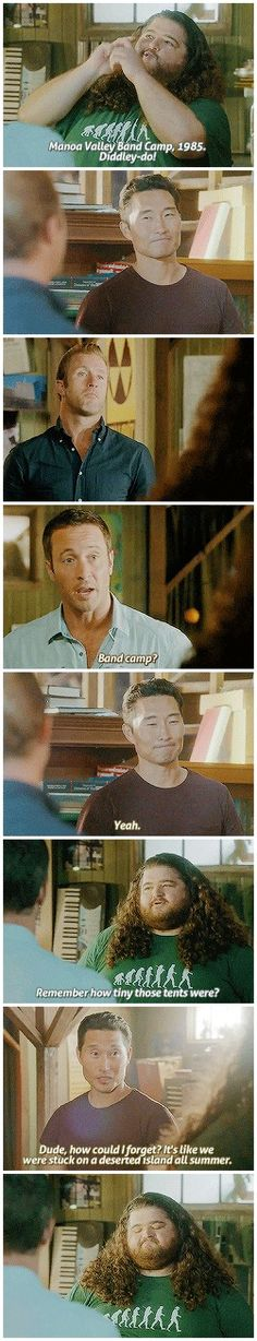 "Hawaii Five 0 ""Lost"" Reunion # 4.03"