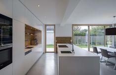 Luxury Kitchen Design, Best Kitchen Designs, Kitchen Interior, Home Interior Design, Open Plan Kitchen Living Room, Sweet Home, New Homes, House, Home Decor