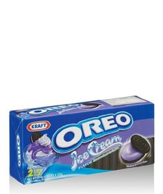 OREO Chocolate Sandwich Cookies with Blueberry Ice Cream Flavor Net Ounces Weird Oreo Flavors, Cookie Flavors, Funny Food Memes, Food Humor, Sandwich Cookies, Oreo Cookies, Oreos, Blueberry Ice Cream, Junk Food Snacks