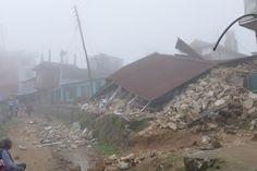 Gosainkund Trek, Chisapani nach dem Erdbeben