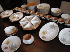 C. 1960 68-piece china set designed by Ben Seibel for Iroquois