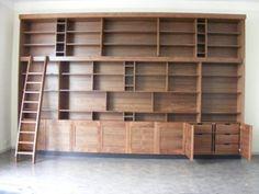 boekenkast houtonoom