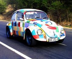 Do you like a little whimsy in your life?  Check out this funky Volkswagen Beetle Car!