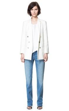 Image 1 of LONG SEAMED BLAZER from Zara