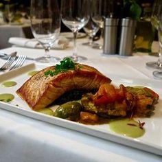 Chef Jamil's Pan-Seared Scottish Salmon