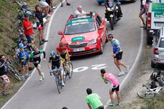 Contador and Froome stage 16 of VaE 2014.