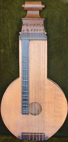 EARLY MUSICAL INSTRUMENTS - MUSIC TREASURES - ANTIQUE ZITHER ... www.music-treasures.com