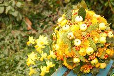 Droogbloemen voorjaars decoratie