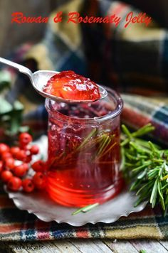 Rowan and rosemary jelly makes the perfect companion for savoury dishes, add to gravy, spread on melted cheese or just serve with roasted chicken or meat.