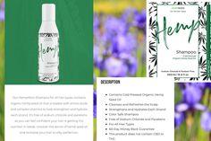 Organic Hemp Seeds, Organic Oil, Organic Skin Care, Hemp Shampoo, Organic Shampoo, Hemp Oil, Amino Acids, Cleanse, Skincare