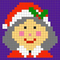 Crochet christmas pixel blanket c2c | Szydełkowanie