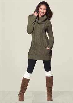 7ad03aaa91c 13 Best Sweater Dress with Leggings images
