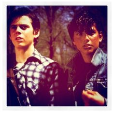 The Outsiders. I can't even-no. I saw it like two years ago and read the book. I seriously love it but then I forgot about it. I was shocked I forgot. Forgot about the amazing cast. The brilliant one liners. Everything. I need to watch it again. This movie in the cinema at it's finest. And while we're at it, it's literature at it's finest, too.