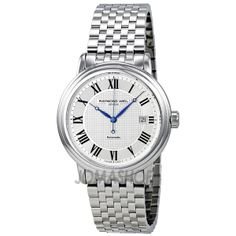 Raymond Weil Maestro Silver Dial Stainless Steel Mens Watch 2837-ST-00659