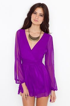 """""""Stunning chiffon playsuit"""" -- you had me at playsuit"""