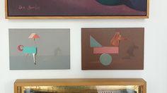 "Alejandro Calderón en #GaleríaEstampa #Madrid #Exposición ""Colección de bolsillo"" #Arte #ArteContemporáneo #Contemporary#Art #Arterecord 2017 https://twitter.com/arterecord"